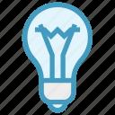 bulb, electric bulb, illumination, light, light bulb, science icon