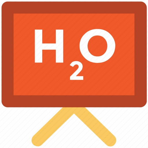 chemistry formula, chemistry of water, h2o, h2o formula, water formula icon