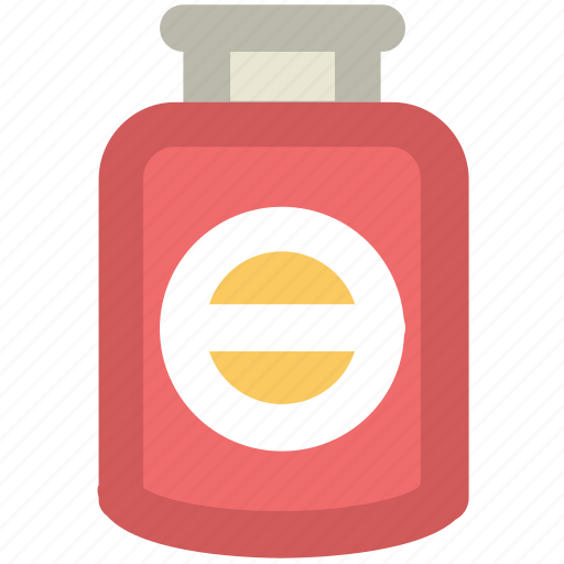 medical treatment, medication, medicine jar, pill jar, tablets icon