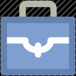 bag, briefcase, business bag, documents case, office bag, official bag, portfolio icon