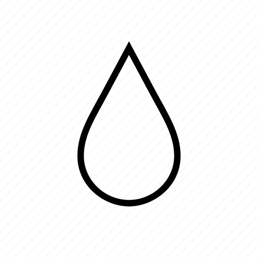 drip, droplet, fluid, science, water icon