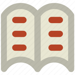 book, education, encyclopedia, open book, reading, study, wikipedia icon