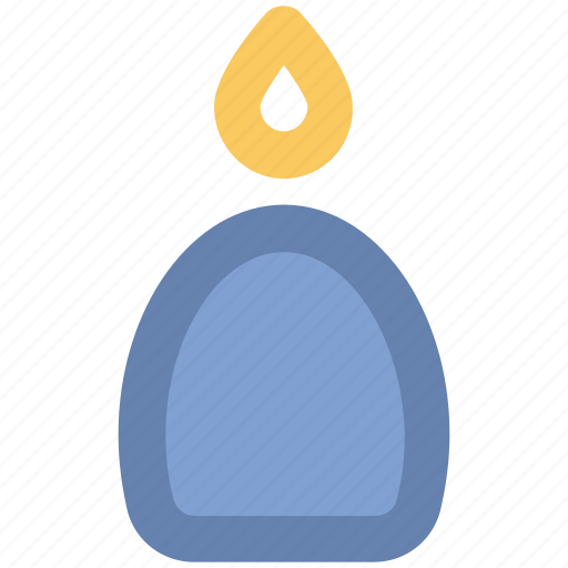 burning candle, candle, candle flame, church candle, wax candle icon