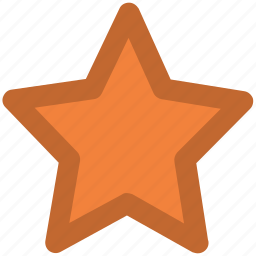 bookmark star, favourite, like, ranking star, star, star shape icon