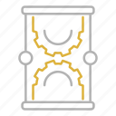 clock, education, science, study, time, time science icon
