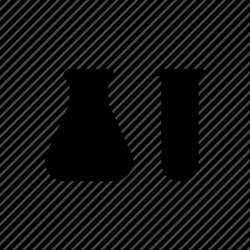 beaker, experiment, science, test, test tube, wisdom icon