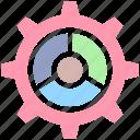 cog, cogwheel, gear, maintenance, repair, science, services icon