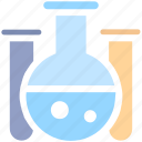 chemical, experiment, flask, lab, lab test, laboratory, liquid, research, science, test tube, tube icon