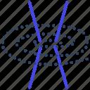 chromosome, chromatin, hereditary material, genetic material, dna strands