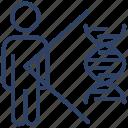dna, deoxyribonucleic acid, dna strand, double helix, chromosome