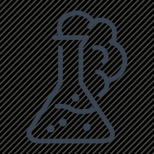 beaker, experiment, glassware, laboratory icon