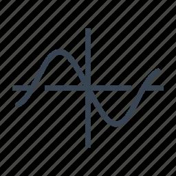 curve, function, geometry, mathematics icon