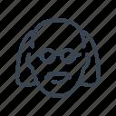 biologist, professor, scientist, chemist, laboratory icon