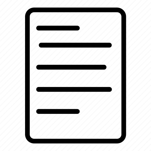 document, form, science, test icon