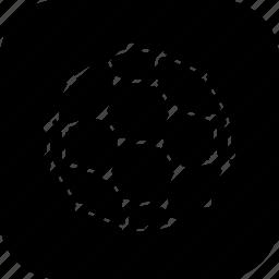 buckyball, carbon, ellipsoid, fullerene, graphite, molecule, tube icon