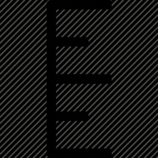 accurate, measure, precision, scale, steps icon