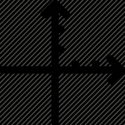 coordinates, grid, location, maths, x, y icon