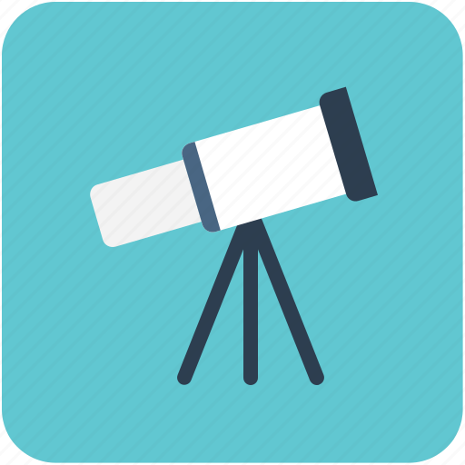 astronomy, planetarium, spyglass, telescope, vision icon