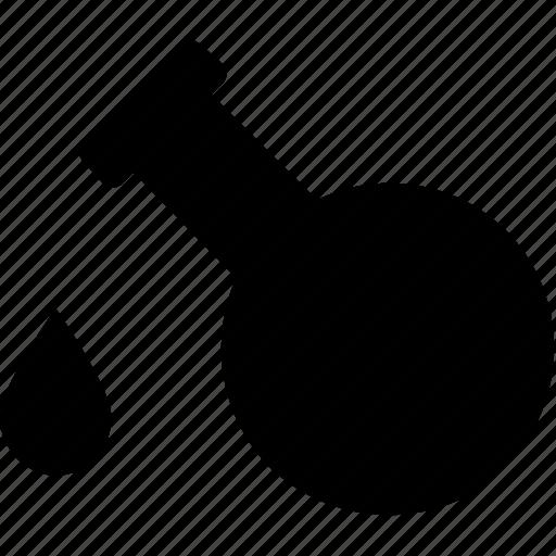 drop, flask, lab, liquid, science icon