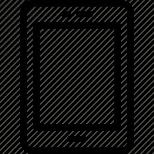 ipad, ipad device, mobile, tab, tablet icon