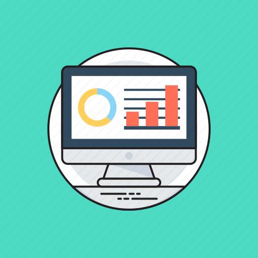 business analytics, data analysis, data visualization, market analysis, statistics icon