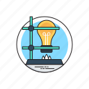 alcohol burner, bunsen lamp, burner lamp, lab clamp flask, science experiment icon