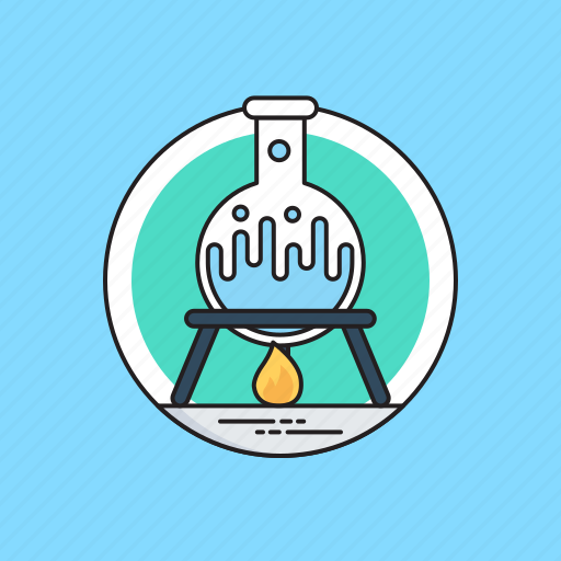 chemistry experiment, lab burner, lab experiment, lab research, science lab icon