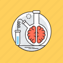 brain research, conserved brain, life science, neuroscience, scientific mind icon