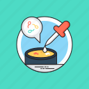 lab experiment, lab samples, lab testing, petri cup, sperm testing icon