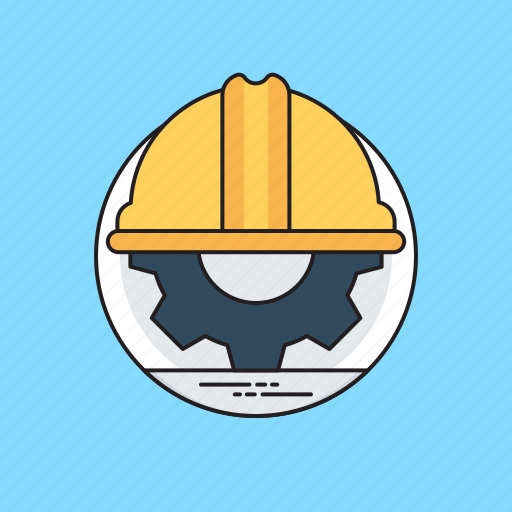 construction, development, engineering, industrial engineering, operation and maintenance icon
