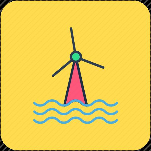 aerogenerator, wind energy, wind power, windmill tower, windmills icon