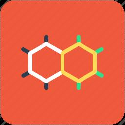 atom, electron, molecule, physics, science icon