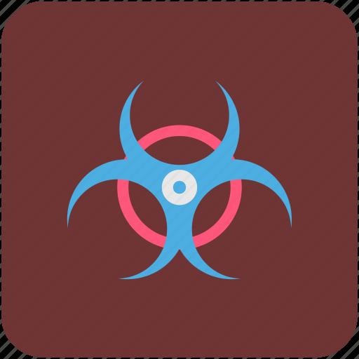 biohazard, biological hazard, danger, nuclear, toxic icon