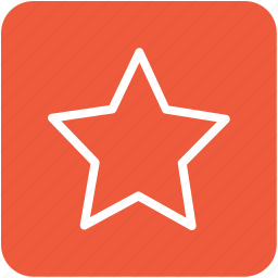favorite, ranking star, rating star, star, web rating icon