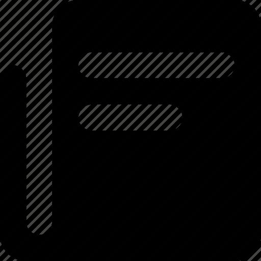 document, file, paper, report, script icon