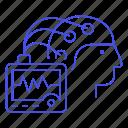 activity, brain, eeg, electroencephalogram, futuristic, monitoring, reader, science, technology, wave
