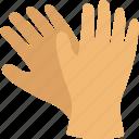 gloves, hand wear, medical gloves, mitten, winter icon