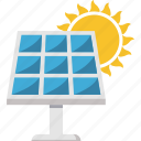energy, solar panel, solar heating, solar