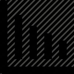 bar chart, bars, chart, graph, statistics icon