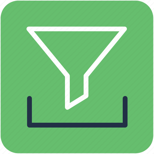 cone, filter, filtering, funnel, pipe icon