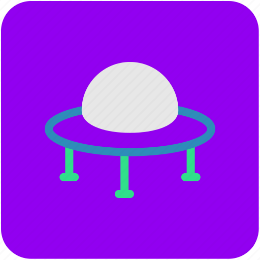 alien ship, flying saucer, spacecraft, spaceship, ufo icon