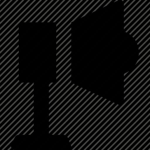 bullhorn, loud, megaphone, speaker, trumpet icon
