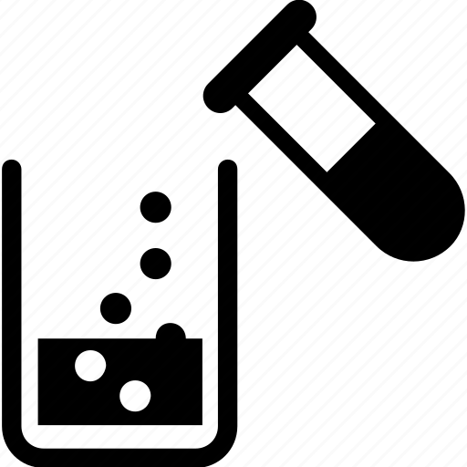 beaker, chemical, lab, sample, test tube icon