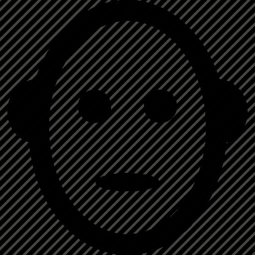 cartoon face, emoji, emoticon, face, smiley icon