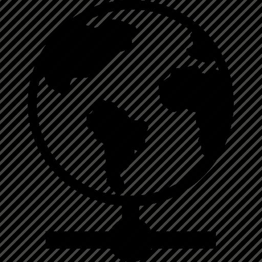 Globe, internet, networking, hosting, server icon