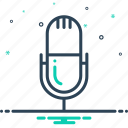 device, mic, microphone, speech icon