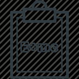 clipboard, emc2, equivalence, physics, scientific formula icon