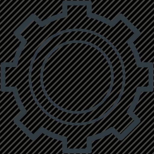 cog, cog wheel, gear, option, setting icon