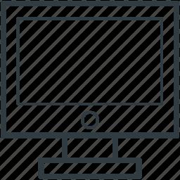 desktop, lcd, led, monitor, screen icon