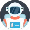 astronaut, astronomy, helmet, nasa, space, spacecraft, spaceman icon